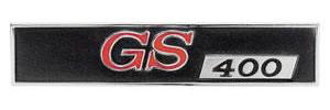 "1967-1967 Skylark Dash Emblem, 1967 ""GS 400"""