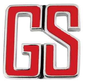 "1966-1966 Skylark Dash Emblem, 1966 ""GS"""