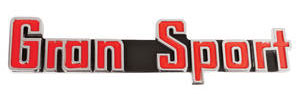 1965-1965 Skylark Trunk Emblem, 1965 Gran Sport