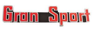 Skylark Trunk Emblem, 1965 Gran Sport