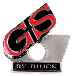 1969-1969 Skylark Trunk Lock Emblem, 1969 GS By Buick