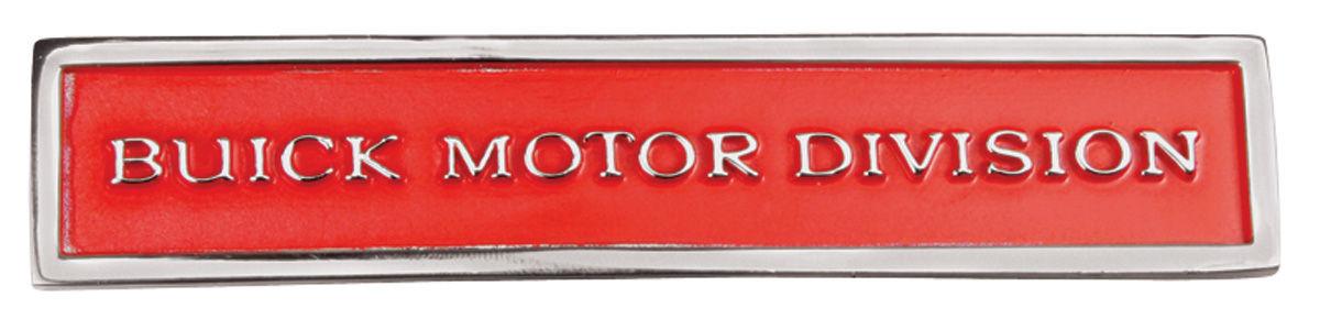 Skylark Fender Emblem 1970 72 Buick Motor Division Gs
