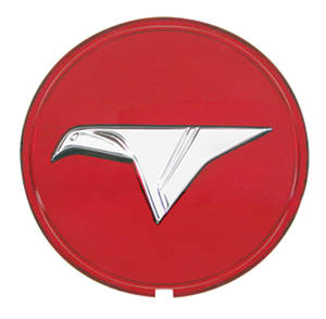 "1965 Skylark Wheel Center Cap Emblem ""Fat Bird"""