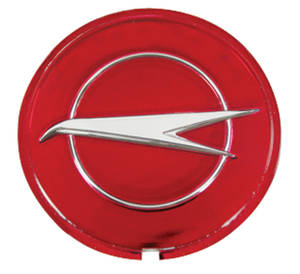 "1966-67 Skylark Wheel Center Cap Emblem ""Thin Bird"""
