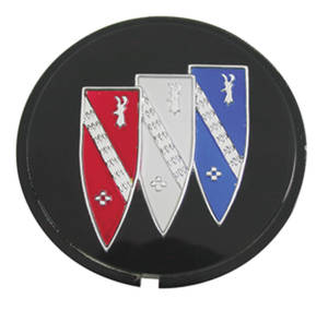 "1968-70 Skylark Wheel Center Cap Emblem ""Tri-Shield"""