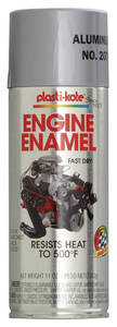 1964 Skylark Buick Engine Enamel Silver, 12-oz. Spray