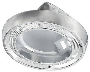 1966-67 Cutlass Dome Light Chrome Base Coupe Exc. Conv.