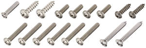 1965 Skylark Exterior Screw Kit (17-Piece)
