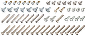 1969-1969 Skylark Exterior Screw Kit (60-Piece)