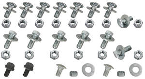 Skylark Bumper Bolt Kit, 1971-72 Bumper Bracket Mounting Kit (50 Pieces)