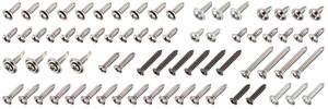 1969-1969 Skylark Interior Screw Kit 2-dr., 72-Piece