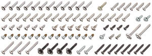 1972 Skylark Interior Screw Kit 4-dr. Sedan, 92-Piece
