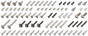 1972-1972 Skylark Interior Screw Kit Convertible, 81-Piece