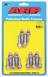 1963-1976 Riviera Header Bolts & Studs 455 (12-Point Head) Stainless Steel, by ARP