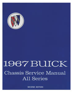 1967-1967 Skylark Service Manual, Buick Chassis
