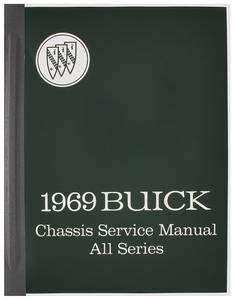 1969 Chassis Service Manuals, Riviera