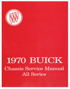 Service Manual, Buick Chassis