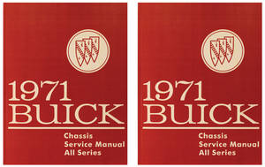 1971 Chassis Service Manuals, Riviera