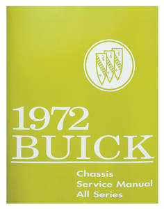 1972 Skylark Service Manual, Buick Chassis