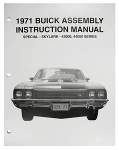 1971-1971 Skylark Assembly Manuals, Buick