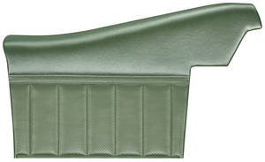 Door Panels, 1968-72 Skylark Assembled Rear, Convertible