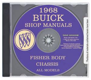 1968-1968 Skylark Shop Manuals On CD-ROM, Buick Factory