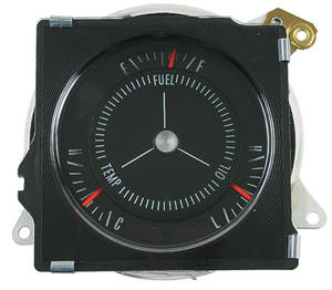 1970-1972 Skylark Gauge, Rally Pack (GS) Flat Lens (Late '70)