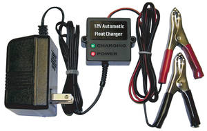 Float Charger, 12V Automatic, by Lectric Limited