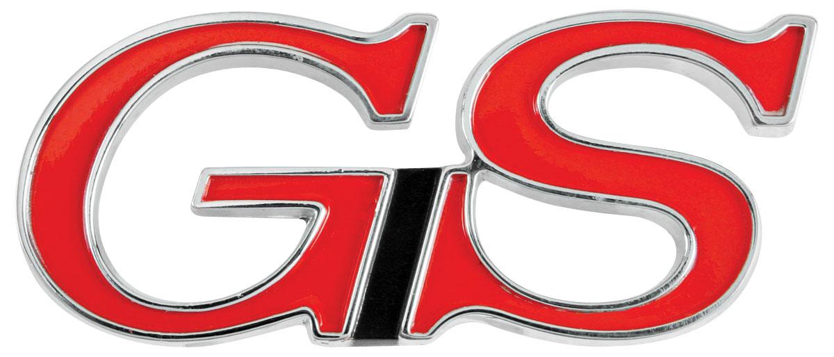 "Photo of Skylark Quarter Panel Emblem, 1967-69 ""GS"""