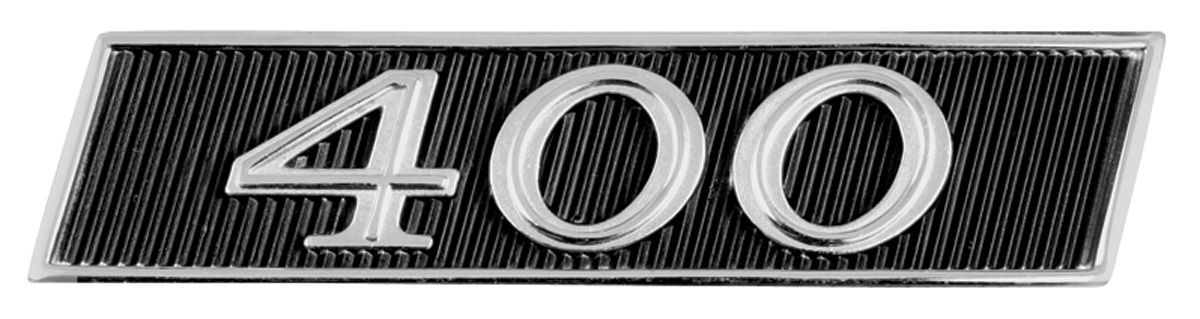 "Photo of Skylark Tail Panel Emblem, 1967 GS ""400"""