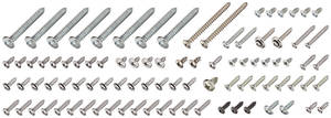 1965 Skylark Interior Screw Kit Convertible, 92-Piece
