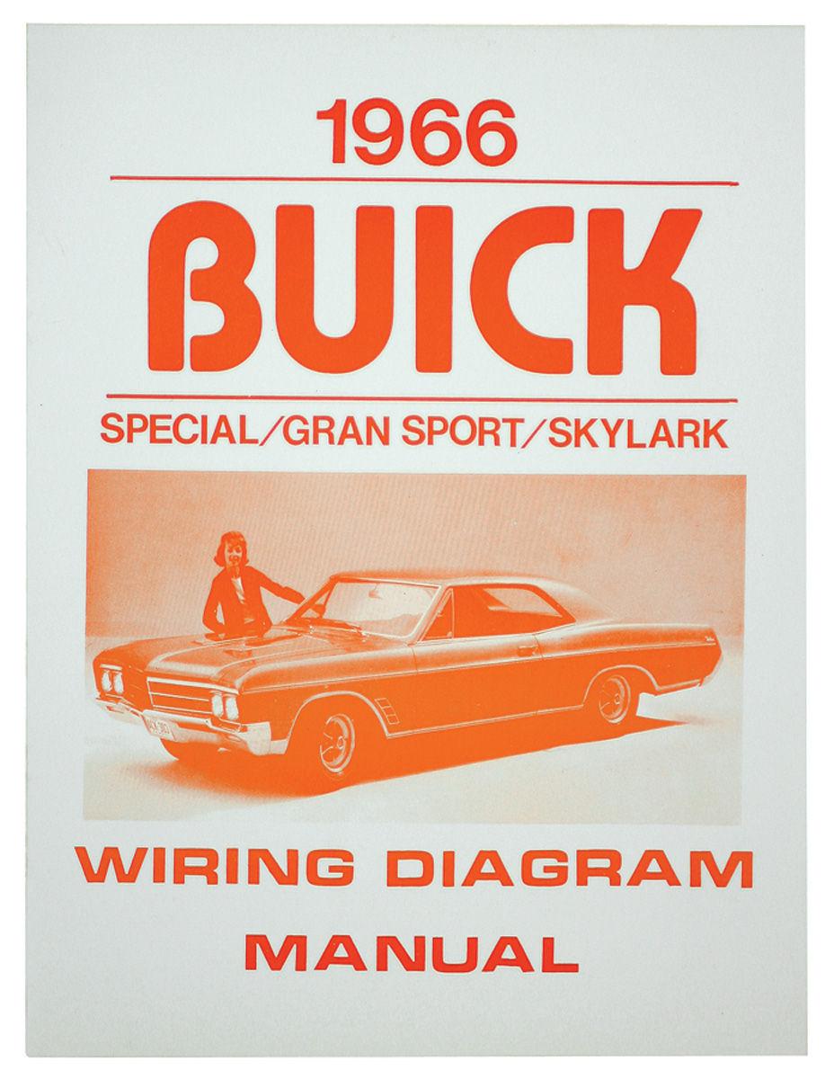 Wiring Diagram  Buick Skylark Fits 1966 Skylark   Opgi Com