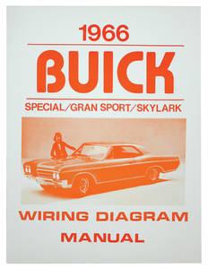 1966-1966 Skylark Wiring Diagram, Buick Skylark