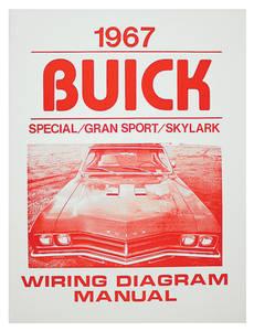 1967-1967 Skylark Wiring Diagram, Buick Skylark