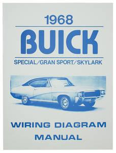 1968 Wiring Diagram, Buick Skylark