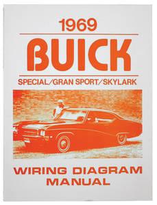 1969-1969 Skylark Wiring Diagram, Buick Skylark