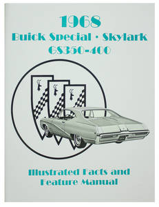 1968 Buick Skylark, Special & GS Illustrated Facts & Features Manuals