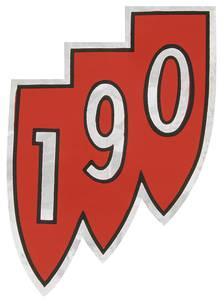 "1962 Skylark Air Cleaner Decal Special ""190"" Tri-Shield"