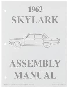 1963 Skylark Assembly Manuals, Buick