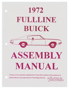 1972-1972 Riviera Buick Assembly Manuals