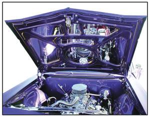 1964 Skylark Engine Compartment Mirror Kit - Hood