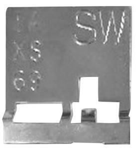 1970-72 Skylark Radiator ID Tag Auto (SW)