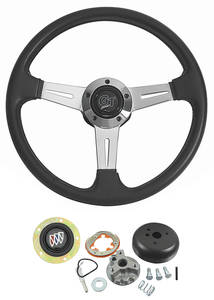 1969-1972 Skylark Steering Wheels, Elite GT Standard Column, by Grant