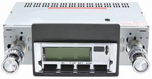1966-67 Skylark Stereo, Vintage Car Audio 300 Series Chrome