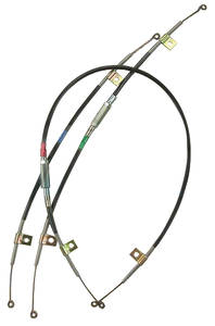1970 Skylark Heater Control Cable 3-Piece