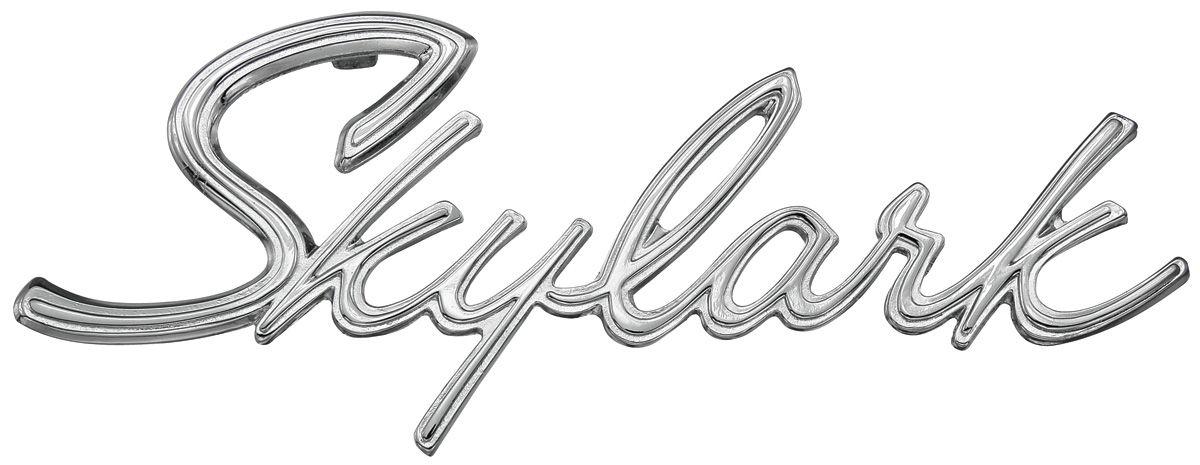 trunk emblem  1965 skylark   opgi com