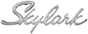 1965-1965 Skylark Trunk Emblem, 1965 Skylark