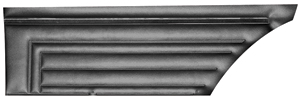 Door Panels, 1971-72 Skylark Standard Rear, Hardtop