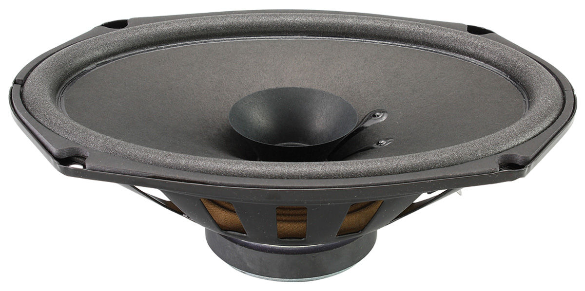 "Photo of Speaker, Stereo OEM, 10 OHM, 60 watts, 6"" x 9"""