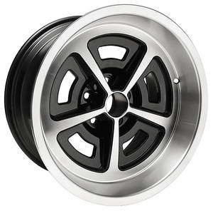 "1964-72 Skylark Wheel, Rally (Aluminum) 17"" X 9"" (BS 5.125""), by U.S. Wheel"